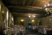 Restaurante en el estilo del castillo — Foto de Stock