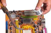 Chip per un computer — Foto Stock