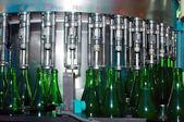 Butelek wina — Zdjęcie stockowe