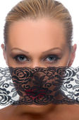 Woman's face — Foto Stock