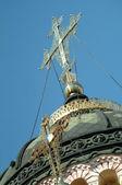 экстерьер православный собор — Стоковое фото