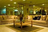 Hotel's interior with sofas — Stock Photo