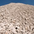 High mound of waste — Stockfoto