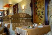 Interior of the restaurant — Stock Photo