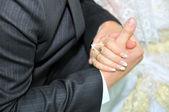 新婚の手 — ストック写真