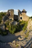Zříceniny starobylé pevnosti — Stock fotografie
