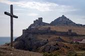 Ruinas de una antigua fortaleza — Foto de Stock