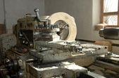 Werkzeuge zum schneiden von holz dielen — Stockfoto