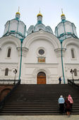 Catedral de la iglesia ortodoxa — Foto de Stock