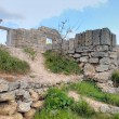 Ruins of an ancient fortress - Foto Stock