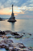 The Monument to the Scuttled Ships in Sevastopol — Stock Photo
