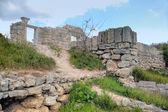 Rovine di un'antica fortezza — Foto Stock
