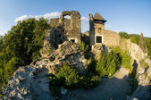 Ruins of an ancient castle — Stock Photo