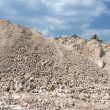 Mound of gravel — Stock Photo