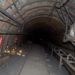Underground tunnel in mine — Stock Photo #4928303