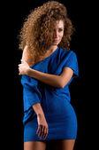 Młoda kobieta z smukłą sylwetkę — Zdjęcie stockowe