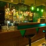Interior of the billiard club — Stock Photo #5039785