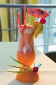 Sklo mléčné koktejly — Stock fotografie