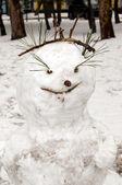 Снеговик — Стоковое фото