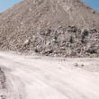 Mound of gravel — Stockfoto