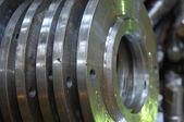 Metal wheels — Stock Photo