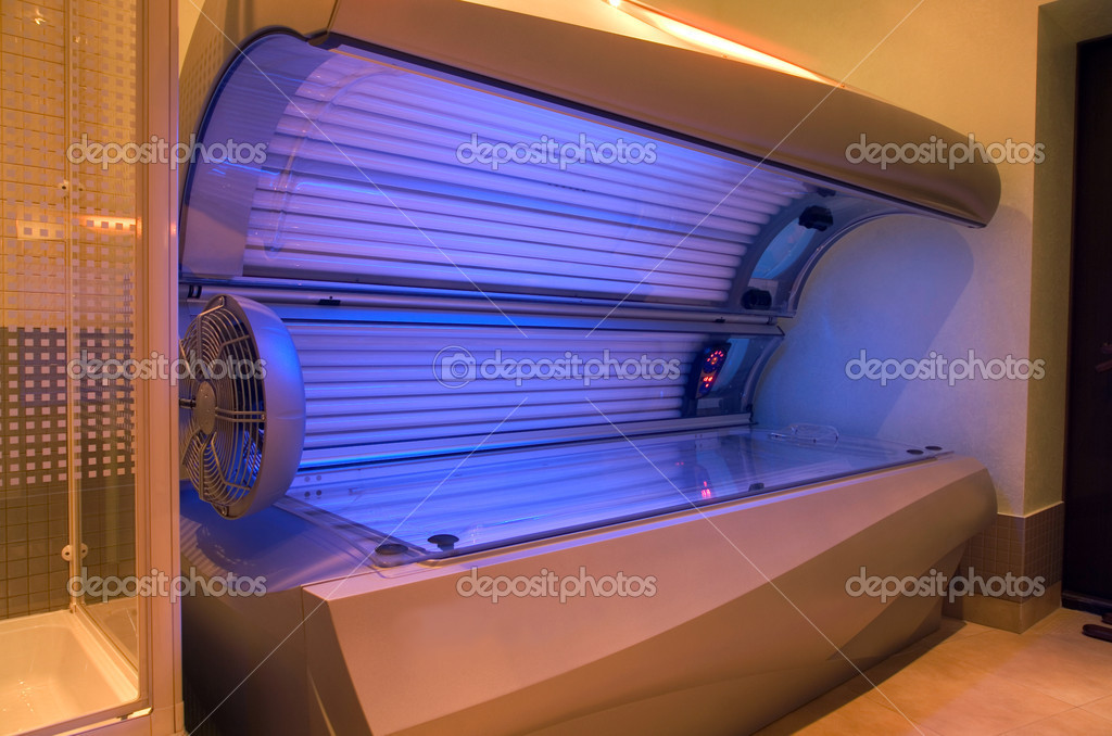 Interior space to create a solarium tanning   #5374298