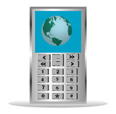 Mobile telephone — Stock Vector