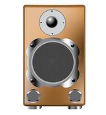 Speaker on white — Stock Vector