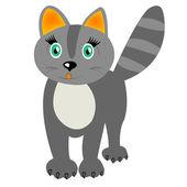 Home animal cat — Stock Vector