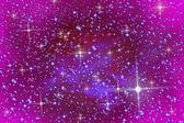 Pink sky and stars — Stock Photo