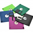 Floppy diskettes — Stock Photo