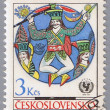 CZECHOSLOVAKIA - CIRCA 1971: postage stamp — Stock Photo