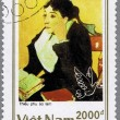VIETNAM - CIRCA 1990: postage stamp — Stock Photo