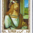 Royalty-Free Stock Photo: AJMAN - CIRCA 1968: postage stamp