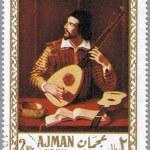 Постер, плакат: AJMAN CIRCA 1968: postage stamp