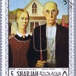 SHARJAH - CIRCA 1968: postage stamp — Stock Photo