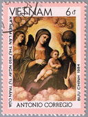 VIETNAM - CIRCA 1984: postage stamp — Zdjęcie stockowe