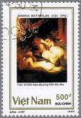 VIETNAM - CIRCA 1990: postage stamp — Stock Photo