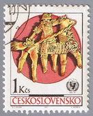 CZECHOSLOVAKIA - CIRCA 1971: postage stamp — Zdjęcie stockowe