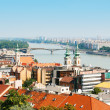 Panoramic view of Budapest - Stock Photo