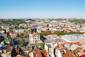 Panorama of a city Lvov — Stock Photo