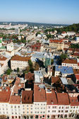 Panorama of a city of Lvov — Stock Photo