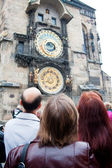 Prague. The Astronomical Clock or Prague Orloj — Stok fotoğraf