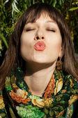 Portrait of beauty woman — Stock Photo