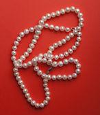 White pearls — Stock Photo
