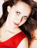 Schoonheid glamour vrouw — Stockfoto