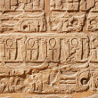 Old egypt hieroglyphs - Stock Photo