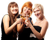 Girl's party — Stock Photo