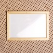 Royalty-Free Stock Photo: Photoframe on glamour pattern