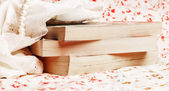 Boeken met kralen — Stockfoto